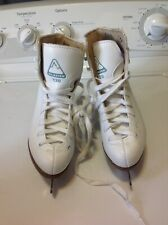 Jackson Glacier 120 Figure Ice Skates Youth/Girls Size 1 White