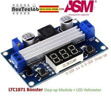 LTC1871 DC DC Step Up Booster Converter 3-35 VDC to 3.5-35 VDC LED VoltMeter
