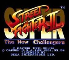 SUPER STREET FIGHTER II ( JEUX SEGA GENESIS ) GAME ONLY