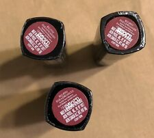 3 Counts- AVON True Color Bold Lipstick - Bold Bordeaux - Sealed