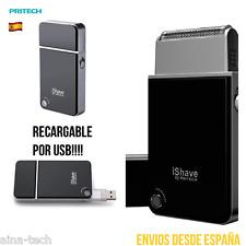 Afeitadora Pritech Portátil DeViaje Casa Máquina De Afeitar Recargable USB!!!!