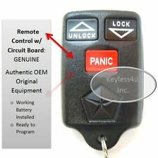 1998 Dodge Ram keyless entry remote control pickup 1500 2500 3500 fob 04686366
