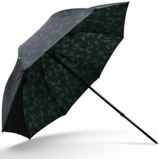 "Camo Fishing Brolly 45"" Inch Tilt Action Carp Fishing Umbrella -  New Camouflage"