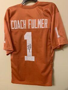 Philip Fulmer Signed Tennessee Volunteers Jersey JSA COA VOLS RARE Autograph