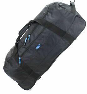 New Extra Large Folding Wheeled Holdall Luggage Travel Sports Weekend Carry Bag