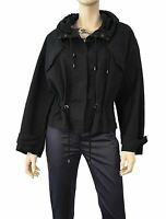 ISABEL MARANT ÉTOILE Lagilly Cotton Canvas Hooded Parka Cropped Jacket 38 US 6