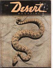 1938 Desert September - 11th Issue-Branding irons; Fr Kino; Hunting Rattlesnakes