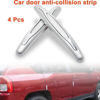 4Protector Door Sticker Safety Anti Collision Car Reflective Strips Grey