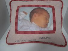 Your memory pillow CUSTOM PORTRAIT THROW PILLOW  W/ YOUR PHOTO