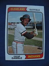 1974 Topps Oscar Gamble Indians card #152 MLB baseball $1 S&H