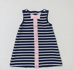Janie and Jack Blue & White Dress Girl's Size 2T