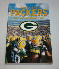 2001 Green Bay Packers Annual Media Guide Book | Donald Driver