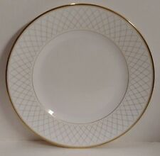 """Waterford China CROSSHAVEN (Gold Trim) Bread Plate (6"""") More Items Available"""