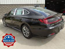 fit:2020-2021 Hyundai Sonata 6Pc Pillar Post Stainless Steel Trim Door Cover