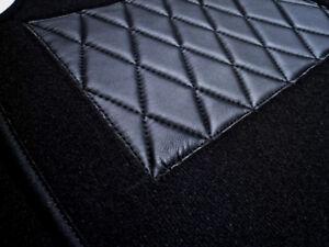 Black Velours Carpet Set for Renault 4CV Baujahr 1946–1961
