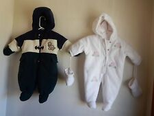 ALOT OF HEALTHTEX and SESAME STREET SNOWSUIT BUNTING w/Mittens Booties 6M