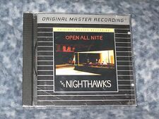 "THE NIGHTHAWKS ""OPEN ALL NIGHT"" MFSL ( FEATURING JIMMY THACKERY) RARE HTF CD"