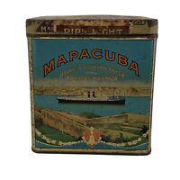 Mapacuba Bayuk Havana Cigar Tin Factory 550 PA