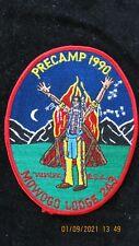 BOY SCOUT OA  MOWOGO LODGE 243  PRECAMP 1990  MINT