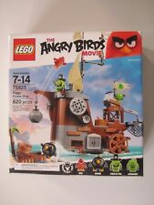 75824 LEGO The Angry Birds Movie Piggy Pirate Ship 620 Pieces Sealed New in Box