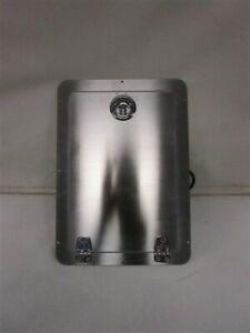 "STAINLESS STEEL GALLEY / BAR GARBAGE CAN DOOR 17"" x 12 1/4"" 002079 MARINE BOAT"