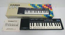 Vintage Casio PT-1 Electronic Mini Keyboard Synthesiser Box & Manual - EXX S11