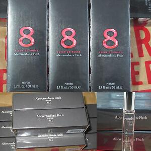 New Abercrombie & Fitch Women's Perfume No. 1 Gift Set 8 Fleur De Roug Fragrance