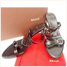 Bally Flip Flops Brown Woman Authentic Used Y950