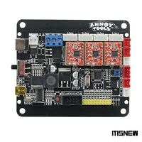 CNC 3 Axis Control Board Version 4.0 GRBL Support 2P/3P for Engraving Machine