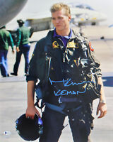 """Val Kilmer Top Gun """"Iceman"""" Authentic Signed 16x20 Photo BAS Witnessed"""