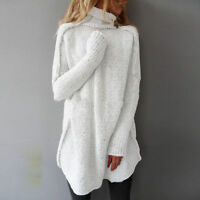 Femmes Chandail Oversize Manches Batwing Pull tricoté Tops Cardigan Outwear