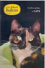 national geographic-SCHOOL BULLETIN-nov 27,1967-CATS.