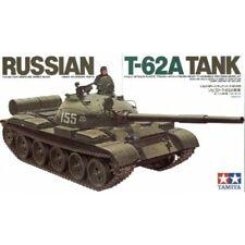 Tamiya 1/35 Russian T-62A Tank -35108 Military Model Kit