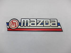 MAZDA Car Old Classic Vintage Back Decal Sticker Exterior Trim NOS