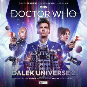 NEW BIG FINISH DR DOCTOR WHO DALEK UNIVERSE 2 4CD DAVID TENNANT SEE DESCRIPTION