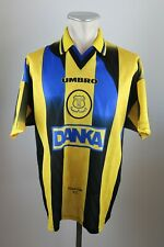 Everton Trikot Gr. L 1996-1998 #9 Ferguson Away Umbro Nike Jersey Danka