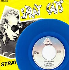 "7"" Stray Cats – Stray Cat Strut / Blue Wax // Dutch 1981"