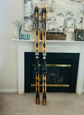 salom super force skis 9 series PR7  with bindings 190cm