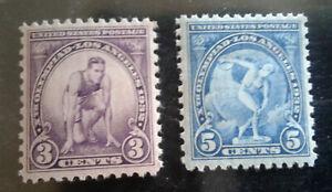 Scott US 718 and 719 Mint NH - Olympics