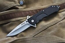 "Russian Tactical Folding knife ""Nemesis"" Satin (D2 Steel) Kizlyar Supreme knives"