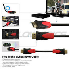 5Pack 6Ft  5# HDMI Cable Durable HD 1080P Gold Plated V1.4 With Ferrite Cord