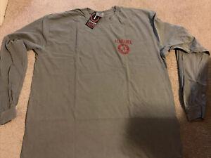 New Comfort Colors Alabama Crimson Tide LS T-Shirt Sz 2XL NWT