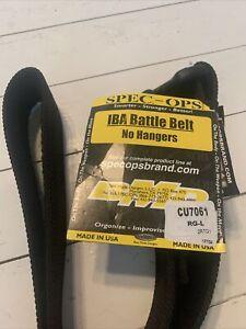 SPEC-OPS Brand Tactical Heavy Duty Adjustable Better Duty Rigger BELT Size Large