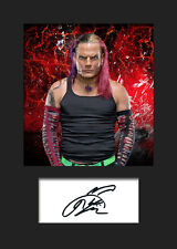 JEFF HARDY #2 (WWE) Signed (Reprint) Photo A5 Mounted Print - FREE DELIVERY