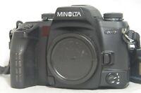 Minolta Maxxum/Dynax/Alpha 7 35mm SLR Film Camera Body Only SN14201597