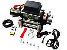 TREUIL ELECTRIQUE 12V 5443KG, TREUIL A CABLE LONGUEUR 28M Ø9.1mm, TELECOMMANDE !