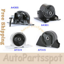 Trans Engine Motor Mount Set For 2000-2006 Nissan Sentra 1.8L Auto Trans G045