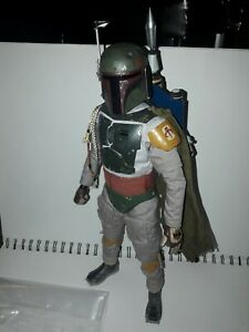 Star Wars Hot Toys Boba Fett 1:6 Scale Figure used unboxed
