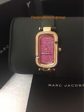 Marc Jacobs Rose Gold-Tone and Black Leather $275 NWT.