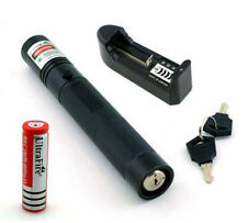 Adjustable Green Laser Pointer Light High Power Pen 532nm 5mw + 18650 Battery